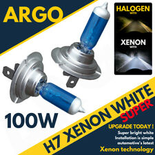 H7 100W 8500K Xenon HID Super White Effect Look Headlight Lamps Light Bulbs