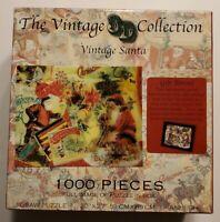 The Vintage Santa 3D Collection 1000 Piece Jigsaw Puzzle USA