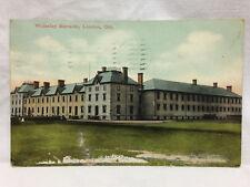 Vtg Postcard Wolseley Barracks London Ontario Red Star News co