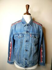 levis strauss & co. original riveted blue jean jacket size large