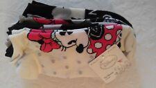 Disney Mickey & Minnie Mouse Women's No Show Socks 6 Pack Size 9-11 NWT