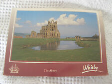 Postcard, The Abbey, Whitby, 1992, Dennis