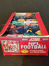 lot of 31 Packs - 1990 Score Football Series 1