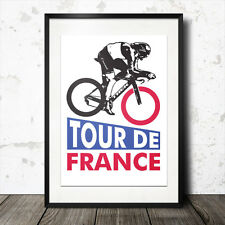 tour de france poster cycling