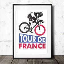 tour de france poster cycling