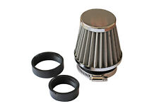 1 x 48mm 42mm 35mm Motorcycle Bike Chopper Air Intake Filter Performance /1816