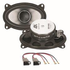 ESX Quantum QE462 10x15 cm 2 Wege Lautsprecher hinten für Polo 86C Golf 2