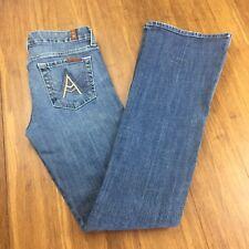 7 Seven For All Mankind Jeans Women's Size 26 A Pocket Blue Denim 7FAM