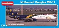 McDonnell Douglas MD-11 (Varig Brasil) << Micro-Mir #144-017, 1:144 scale