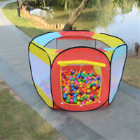 Play Tent for Kids - 6-sided Ball Pit for Kids Toddlers Baby Toys Storage Tent