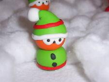 ** Elf orbes Fed Mascota-Hecho a Mano Fimo ~ Navidad Llavero Colgante De Espejo De Coche **