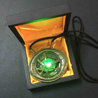 Dr 1:1 Doctor Strange Ring & Necklace Eye of Agamotto Pendant Cosplay Props