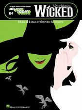 Wicked A New Musical Sheet Music E-Z Play Today Book NEW 000100223