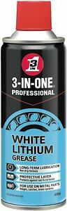 3-IN-ONE 44016 Professional White Lithium Grease, 400ml