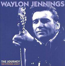 The Journey: Six Strings Away [Box] by Waylon Jennings (CD, Dec-1999, 6 Discs, Bear Family Records (Germany))