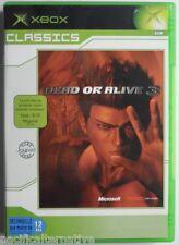 Jeu DEAD OR ALIVE 3 Classics sur microsoft XBOX francais combat juego spiel #1