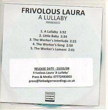 (602D) Frivolous Laura, A Lullaby - DJ CD
