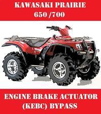 KAWASAKI PRAIRIE ATV 650 700 ENGINE BRAKE / KEBC ACTUATOR BYPASS