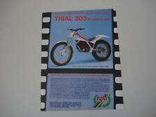 advertising Pubblicità 1987 FANTIC TRIAL 303 PROFESS.