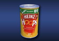 1:12 Scale Spaghetti Hoops Tin Dolls House Miniature Food Cans