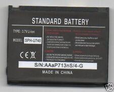 Lot 10 New Battery For Samsung U740 Sch-U740 Alias