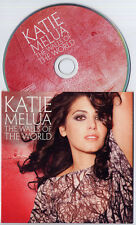 KATIE MELUA The Walls Of The World 2012 UK 1-trk promo CD card sleeve