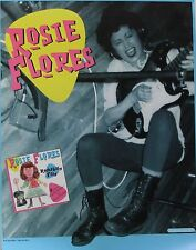 ROSIE FLORES POSTER, ROCKABILLY FILLY  (F1)