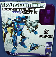 TRANSFORMERS SOUNDWAVE construct bots Build your own transformer NEW decepticon