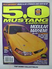5.0 Mustang & Super Fords  Magazine November 2001  V-6 Mustang vs Focus ZX3