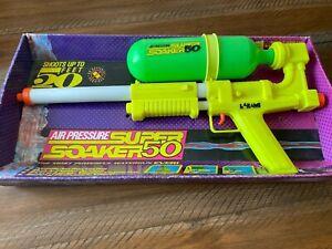 1990 Larami SUPER SOAKER 50 w/ box #9929