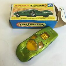 Matchbox Superfast Ford Group 6 No. 45 Boxed