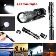 Pocket Outdoor R3 LED 1000 Lumens Lamp Clip Penlight Flashlight Torch
