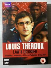 Louis Theroux - Law & Disorder - Like New R2,4 DVD
