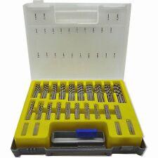 High Speed Steel 150 PCS HSS Twist Drill Bit Kit Set with Case Wood Metal Kit