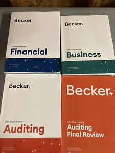 BECKER CPA EXAM REVIEW AUDIT V 3.5, Financial And Business