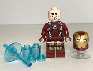 LEGO Marvel IRON MAN Mark 46 Armor Minifigure 76051 Super Hero Airport 2016