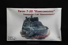 XS035 AER 1/35 maquette tank char 3504 Transporter T-20 Komsomolyets