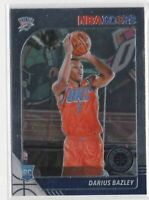Darius Bazley - Thunder ROOKIE CHROME 🔥💎 2019-20 NBA Hoops Premium Stock RC