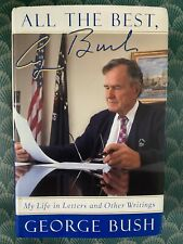 41st President George H W Bush Hand Signed Autograph All the Best Book