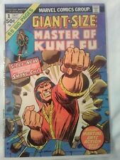 Master of Kung Fu Giant-Size # 1 & # 2 Sept & Dec 1974     F