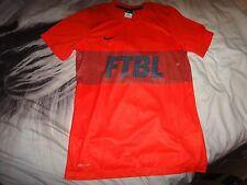 Nike Mens Football Ftbl Dri Fit T Shirt Training Running GYM Size M