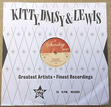 "Kitty Daisy & Lewis I 'm So sorry UK Vinyle 10"" 78 tr/min UNPLAYED"