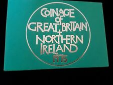 1975 coinage of Great Britain and Northern Ireland . Royal Mint 7 Coin Proof.