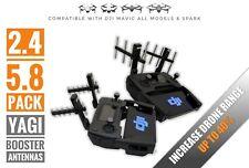 2.4GHz & 5.8GHz Pair Yagi Booster Antennas For DJI Mavic All Models & Spark