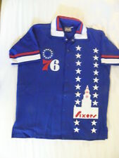 Mitchell Ness M&N $500 MSRP Philadelphia 76ers Sixers Warmup Jersey Jacket 2X 54