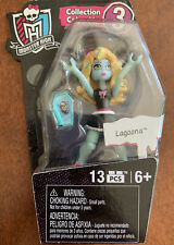 "Monster High Mega Bloks 3"" LAGOONA Collection 3 Mini Figure Doll New"