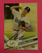 2017 Topps Pro Debut, AZL Dodgers - MITCHELL WHITE - autographed
