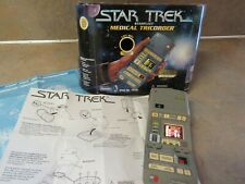 1997 PLAYMATES STAR TREK STARFLEET MEDICAL TRICORDER WORKS