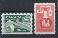 Canada N°289/90** (MNH) 1956 - Ressources économiques