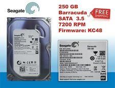 """Seagate 250GB Desktop HDD SATA 6Gb/s 16MB 3.5"""" Internal ST250DM000"""
